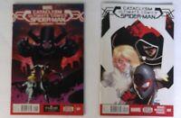 Cataclysm: Ultimate Spider-Man #1-2 Marvel Comic Miles Morales Cloak Dagger NM