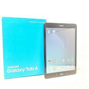 """Samsung Galaxy Tab A SM-T550 9.7"""" 16GB, Wi-Fi, - Black Immaculate Condition"""
