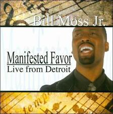 BILL MOSS JR. CD MANIFESTED FAVOR LIVE FROM DETROIT