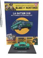 Figura Blake y Mortimer n41 la Datsun 510 de las 3 Fórmulas Del Profesor Sato