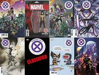 Powers Of X #6 8 Variant Lot (Marvel 2019) CAFU Foreshadow Young Huddleston