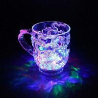 LED-Induktions-Regenbogen-Blinklicht-Whisky-Becher-Bier-Schale V5I9 Fantast C1K3