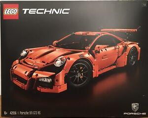 Lego® Porsche GT3 RS Zubehör 1x Fliese 1x4 weiß bedruckt aus Set 42056  Neu
