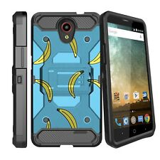 For ZTE Prestige 2 N9136 | Midnight Pro | ZFive 2 Clip Stand Case - Vintage