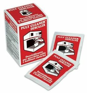 10 x 30g Sachets PULY Cleaner / Descaler for Coffee Machines & Electric Heaters