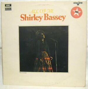 LP Vinyl Album Shirley Bassey All of me Emi Starline records SRS5032 1970