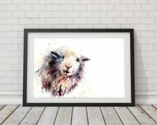 Paper White Animals Art Prints