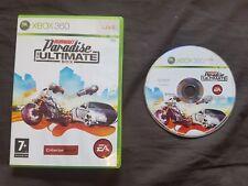 Burnout Paradise el último juego caja Microsoft Xbox 360