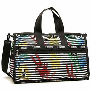 LeSportsac Women's X Peter Jensen Medium Weekender Duffel Bag in Jeffrey