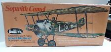 VTG GUILLOWS SCALE BALSA WOOD FLYING MODEL KIT BRITISH WW1 FIGHTER KIT #801 -B1