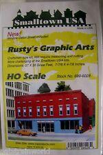 Rix Smalltown Usa Ho/Hon3 Scale Rusty's Graphic Arts (6028)