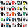 Mens Cycling Jersey & Bib Short Set Cycling Jersey Short Sleeve Cycling Shorts