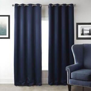 Luxury Curtain Sleeping Living Room with Eyelets Uni Super Quality 1er Pack