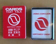 1970 Northwest Orient Cards That Talk excellent shape complete!
