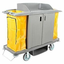 Commercial Cleaning Cart Utility Cart Hotel Janitorial Cart Housekeeping