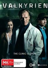 Valkyrien The Clinic is Open DVD NEW Region 4 Norwegian with English subtitles
