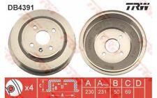 TRW Juego de 2 tambores frenos OPEL ASTRA COMBO VAUXHALL ASTRAVAN MOVANO DB4391