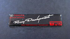 TRD Racing Development Badge JDM T MOTOR SPORT TURBO *