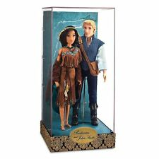 POCAHONTAS AND  JOHN SMITH DISNEY FAIRYTALE  DOLLS LIMITED EDITION  3281/ 6000