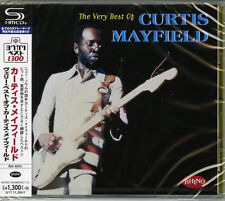 CURTIS MAYFIELD-THE VERY BEST OF CURTIS MAYFIELD-JAPAN SHM-CD C41