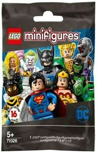 Lego DC Superheroes Collectable Minifigure Series 71026  - Choose Your Figure