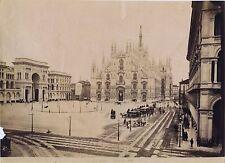 Milan Milano Italia Italie Vintage albumine ca 1875