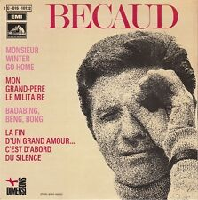 45 T EP  GILBERT BECAUD *MISTER WINTER GO HOME*