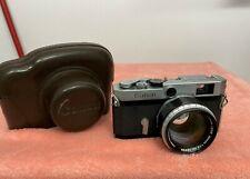 CANON P 35mm Rangefinder Camera w/ 50mm f/1.2 + Case
