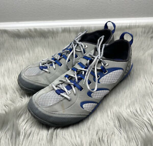 MERRELL Men's Shoes True Glove Running Cross Training Smoke Gray Blue Vibram 10