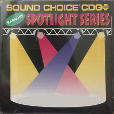Various USED Sound Choice Spotlight Series Karaoke CDG ($40 Each) Out Of Print