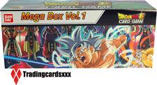 ♦Dragon Ball Super Card Game♦ Coffret Mega Box Vol. 1