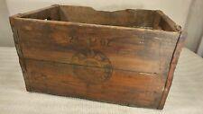 Vintage & Rare Pabst Beer Brewery Shipping Crate! Cool!