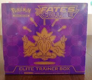 Pokemon TCG : XY - Fates Collide Elite Trainer Box - New Factory Sealed ETB