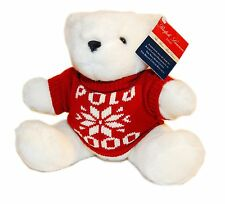 Polo Ralph Lauren Collection Limited Edition 2000 Christmas Teddy Bear Red White