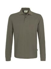 HAKRO Longsleeve Poloshirt Performance XL #815 128 Nougat