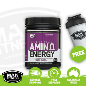 Optimum Nutrition Amino Energy Amino Acid 30/65 Serves | FREE Shaker & Shipping