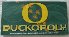 University of Oregon DUCKOPOLY Board Game ~ Created for Alumni & Students