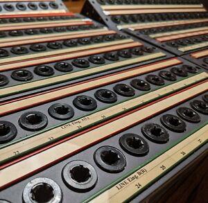 7 Stück!!  Switched studio Patchbay 2 x 16 Trennklinke Tuchel T4012 - RFZ - RFT