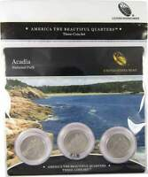 2012 Acadia National Park America the Beautiful Quarter 3-Coin Set Sealed