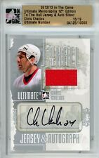 Chris Chelios Ultimate Memorabilia 12th Ed To The Hall Auto Jersey 15/19