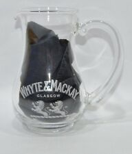 WHYTE & MACKAY WHISKY Pot à eau jus soda pichet carafe 35 cl NEUF