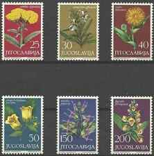 Timbres Flore Yougoslavie 1013/9 ** lot 25665