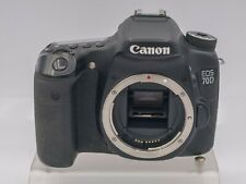Canon EOS 70D 20.2mp 1080p Digital SLR Camera - 279k Acc - Error 30 Shutter?