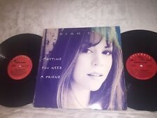 MARIAH CAREY - ANYTIME YOU NEED A FRIEND - 1993 COLUMBIA RECORDS 2-LP ROCK