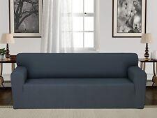 Chiara Rose Elastic Anti Slip 1 Piece Sofa Cover for Pets Stretch 3 Seater Sofa