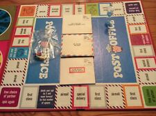 Vintage 1968 Post Office Board Game By Hasbro - Rare!