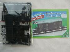 LPH BS5 Spur TT tschech. Bausatz Dienstwagen Ds Daa-k CSD Epo. III - IV / CD V