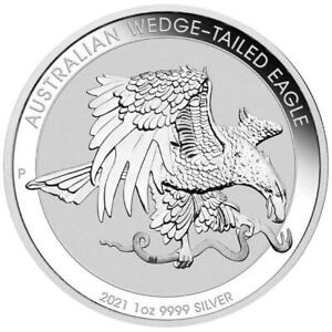 AUSTRALIE 1 Dollar Argent 1 Once Wedge 2021