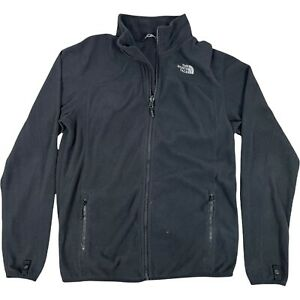 The North Face Men's Black Fleece Size Small Full Zip Mid Layer