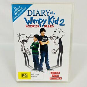 Diary of a Wimpy Kid 2: Rodrick Rules (DVD, 2011) Devon Bostick R4 Free Postage